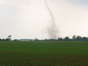 Funnel cloud in Lucan, Ont.
