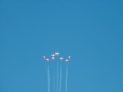 Snowbirds at Whitecourt Airshow