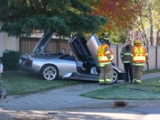 Lamborghini crash in Edmonton