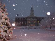 Snowstorm at St. Thomas University