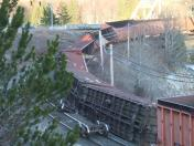 Train derailment in Terrace, B.C.